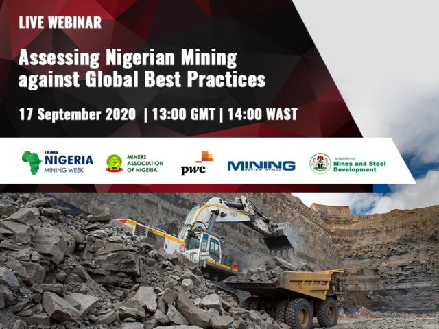 Nigeria Mining Week 17 September live webinar