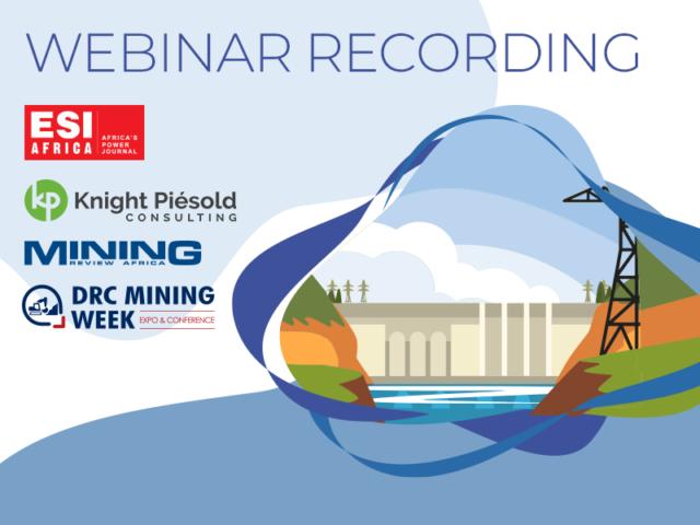 Hydropower webinar recording