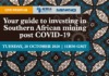 Africa Mining Forum Southern Africa webinar