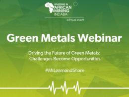 Mining Indaba's Green Metals webinar
