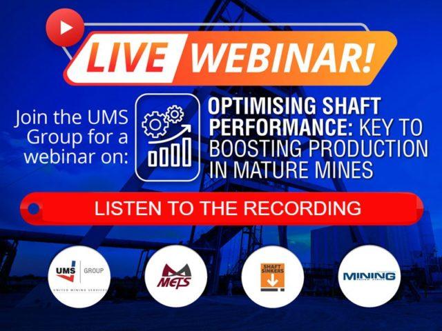 UMS Group webinar recording