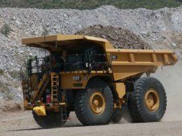 Cat haul truck