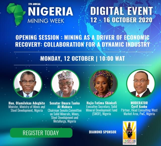 Nigeria Mining Week Digital Event