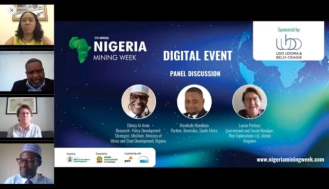 Nigeria Mining Week ESG session