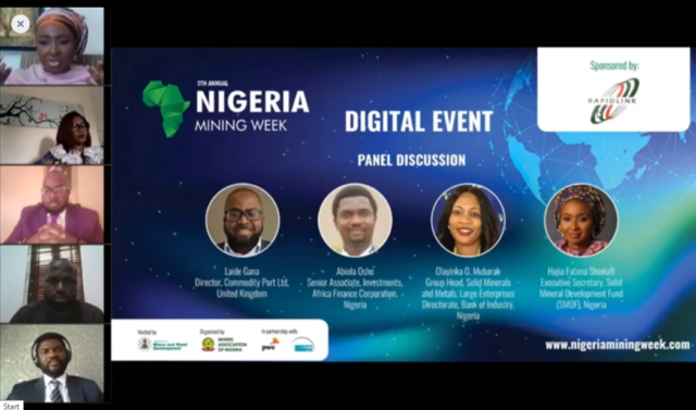 Nigeria Mining Week Digital Event investment session