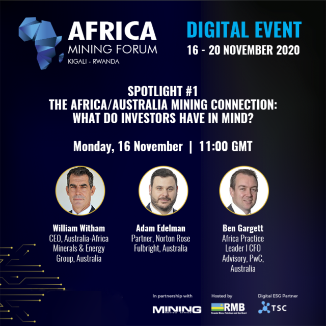 Africa-Australia Connection session at Africa Mining Forum