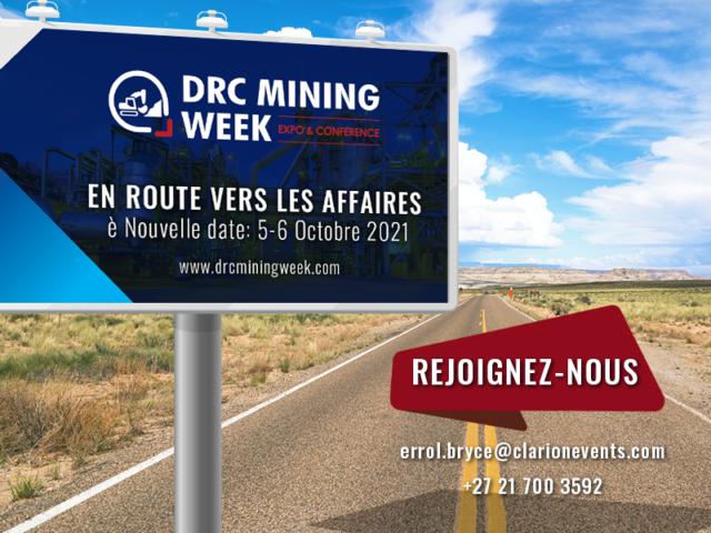 DRC Mining Week de retour à Lubumbashi