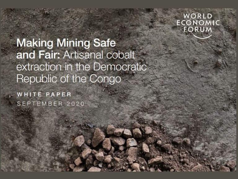 Making mining safe and fair: Artisanal cobalt extraction in the DRC