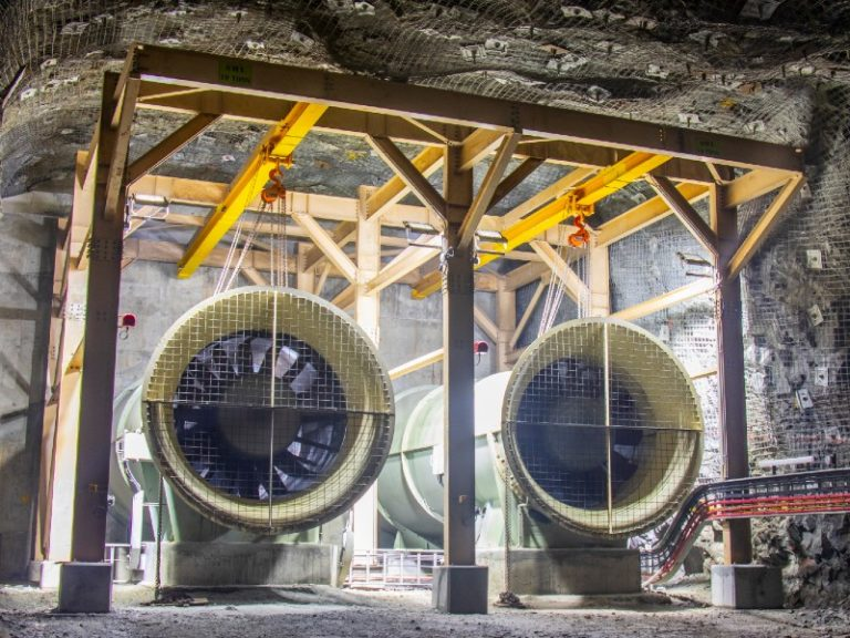 Redefining mine ventilation efficiency and cost savings