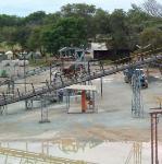 The mill at Turk mine in Zimbabwe.